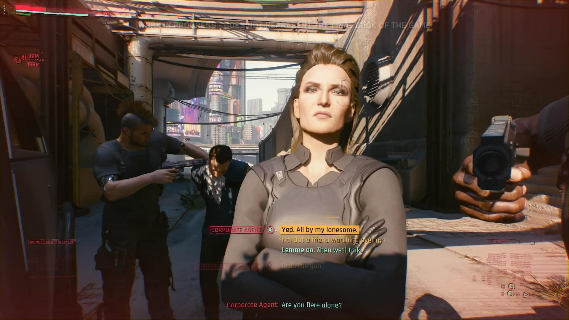 《赛博朋克2077》演示内容分析 满是RPG味道的装备系统
