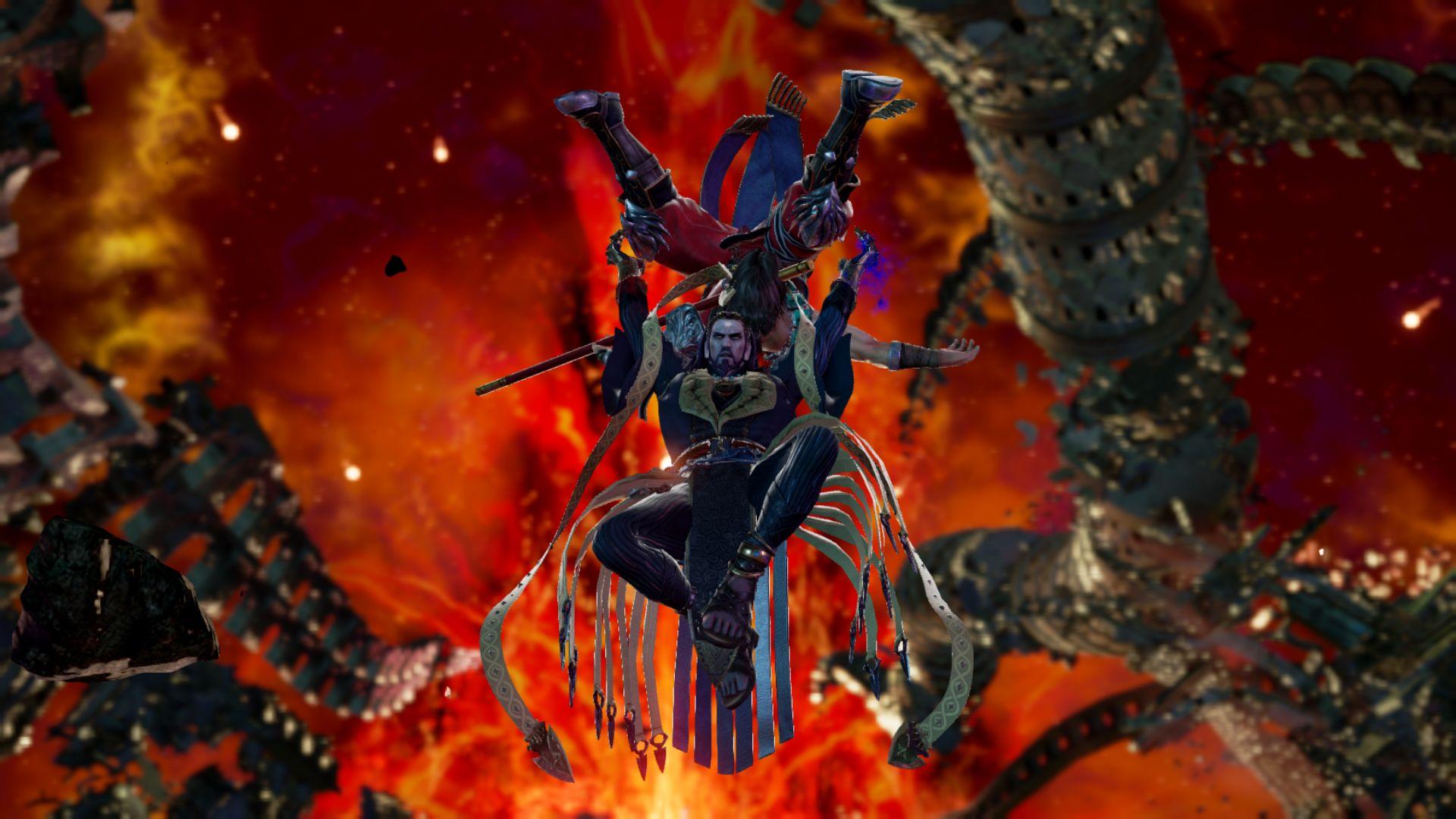 《灵魂能力6》新角色截图曝光 能力超强的手套见过没?