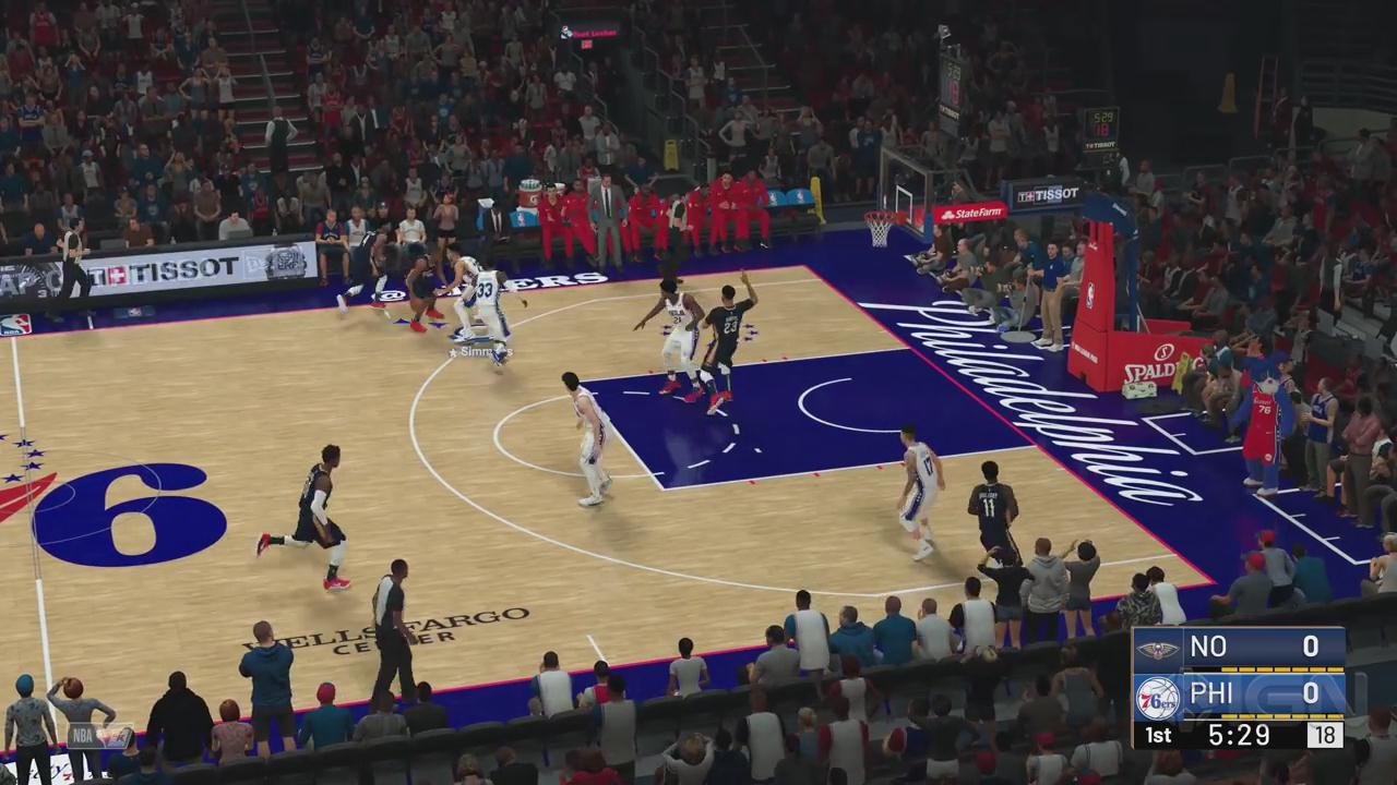 《NBA 2K19》湖人VS雄鹿 首节完整实机演示