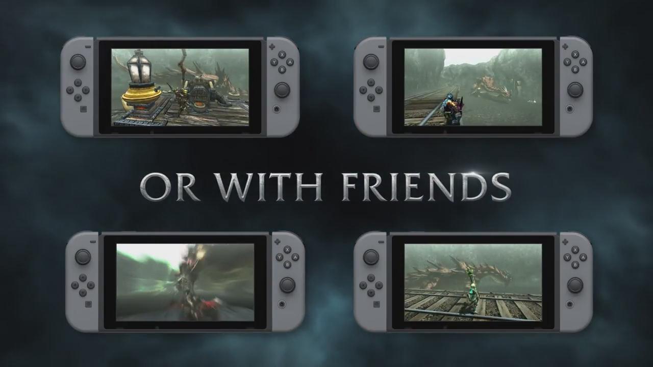 《怪物猎人GU》Switch版上市预告 3个月内更新中文