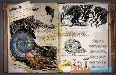 《方舟:生计进化》菊石具体信息介绍 菊石是什么生物