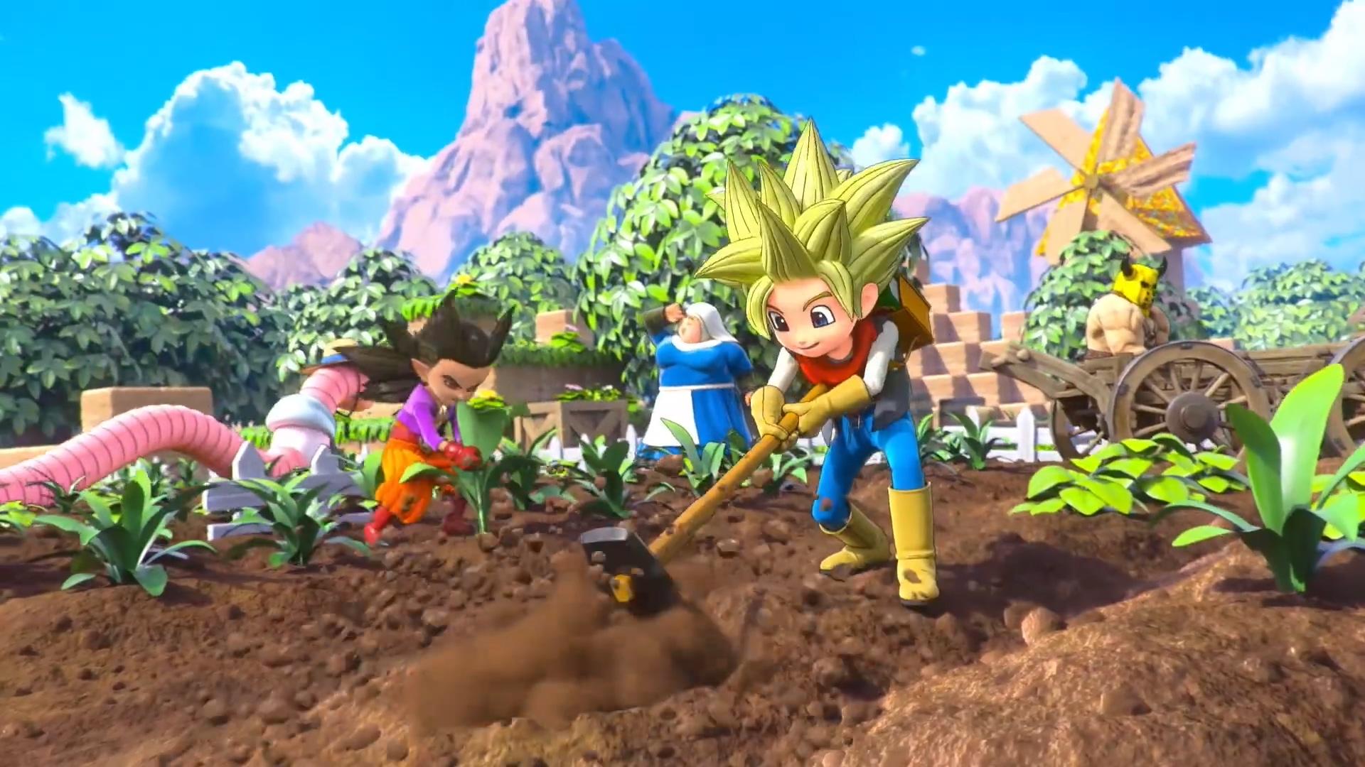 《勇者斗恶龙:建造者2》发售日确定 男女双CG动画同时公开