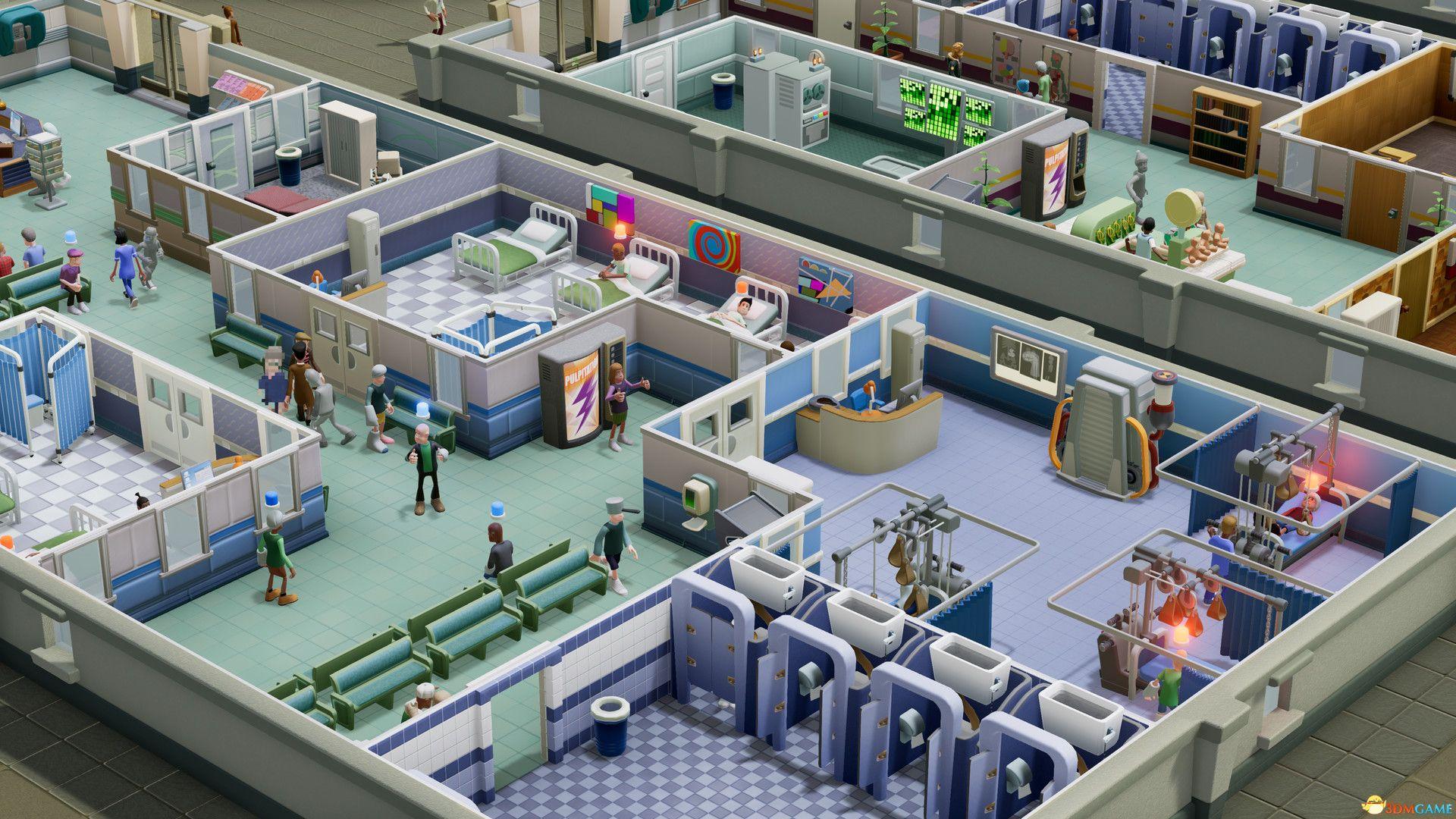 《双点医院》媒体平均分88分 优秀的经营模拟游戏