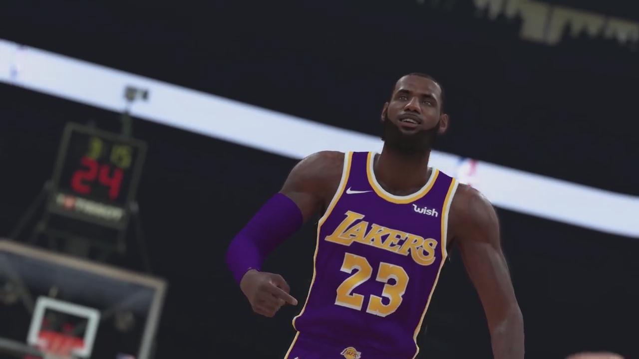《NBA 2K19》剧情模式来到中国 表现神勇杀回NBA