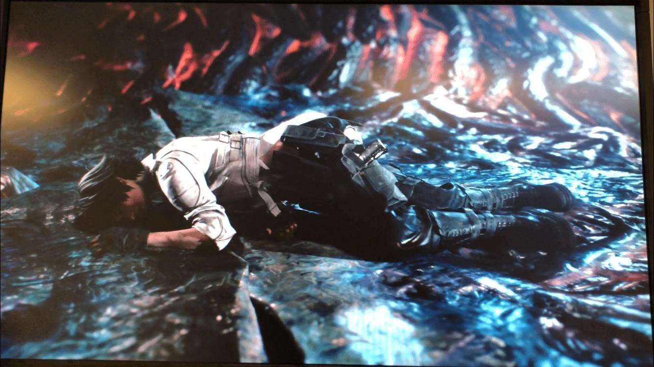 《鬼泣5》崔西和蕾蒂画面曝光 二人都倒在地上发生什么事了?