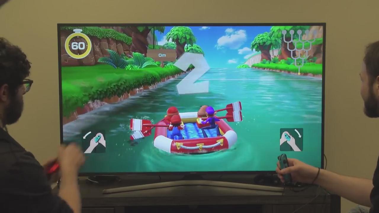 《超级马里奥派对》新演示 体感双人合作完美诠释游戏性