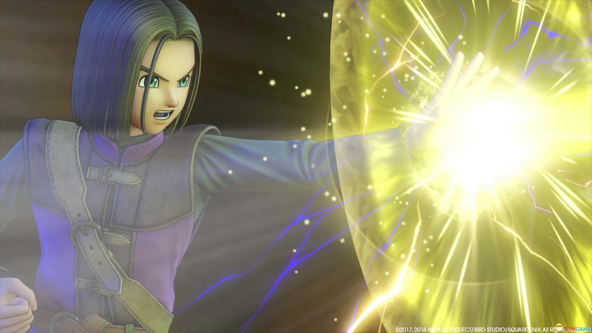 在PC上體驗DQ 《勇者斗惡龍11》Steam正版分流