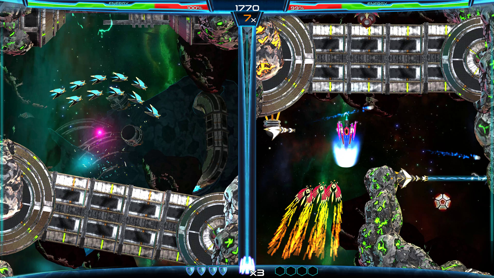 弹幕射击游戏《次元驱动》发售预告 双人挑战难度高