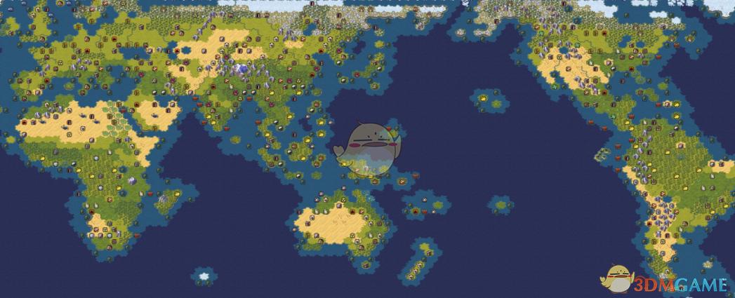 《文明6》什么地图好 好图代码共享