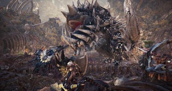 《怪物猎人:世界》龙骨块全获得途径及概率一览