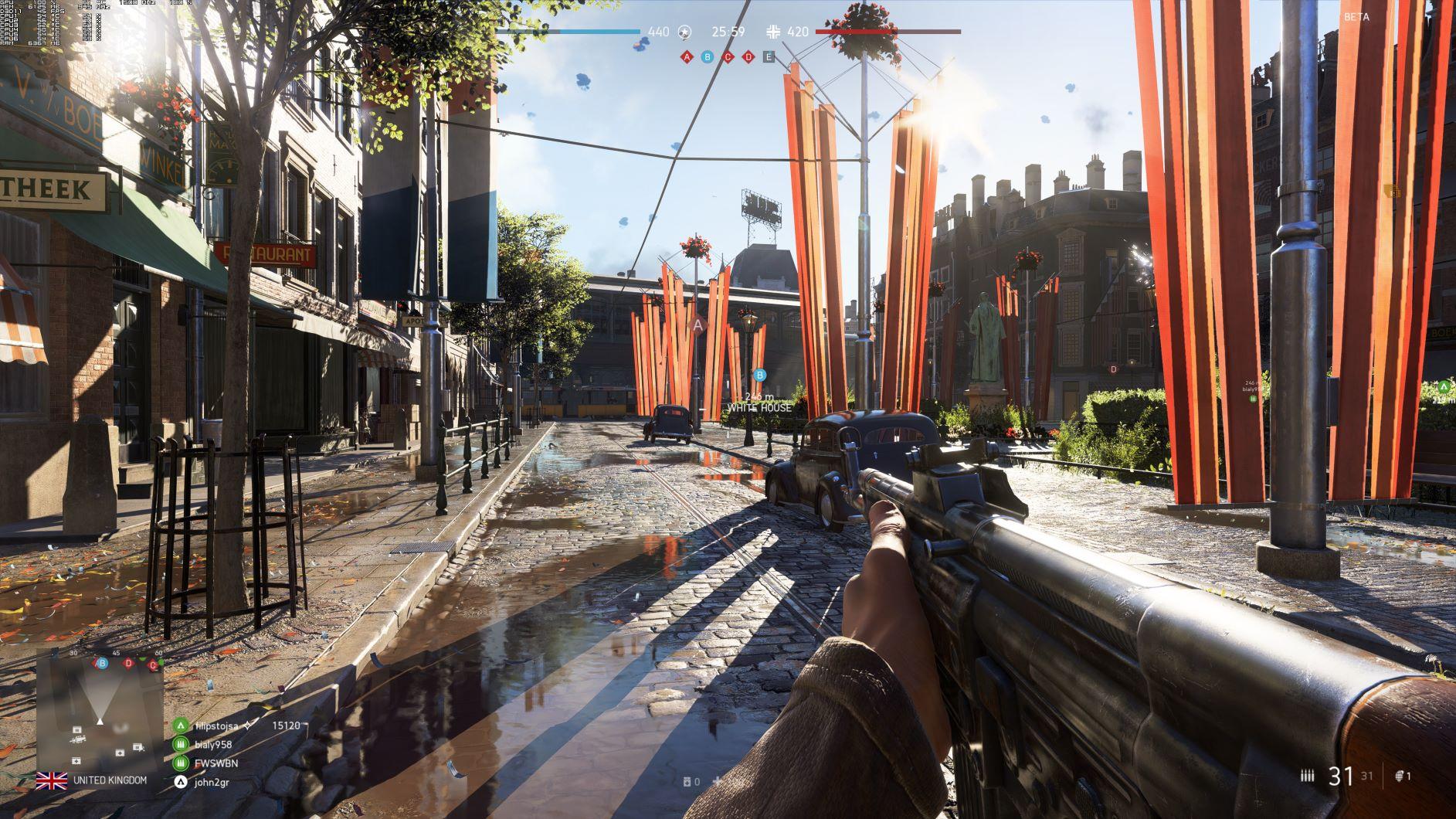 《战地5》BETA PC版最高画质截图欣赏 4K分辨率