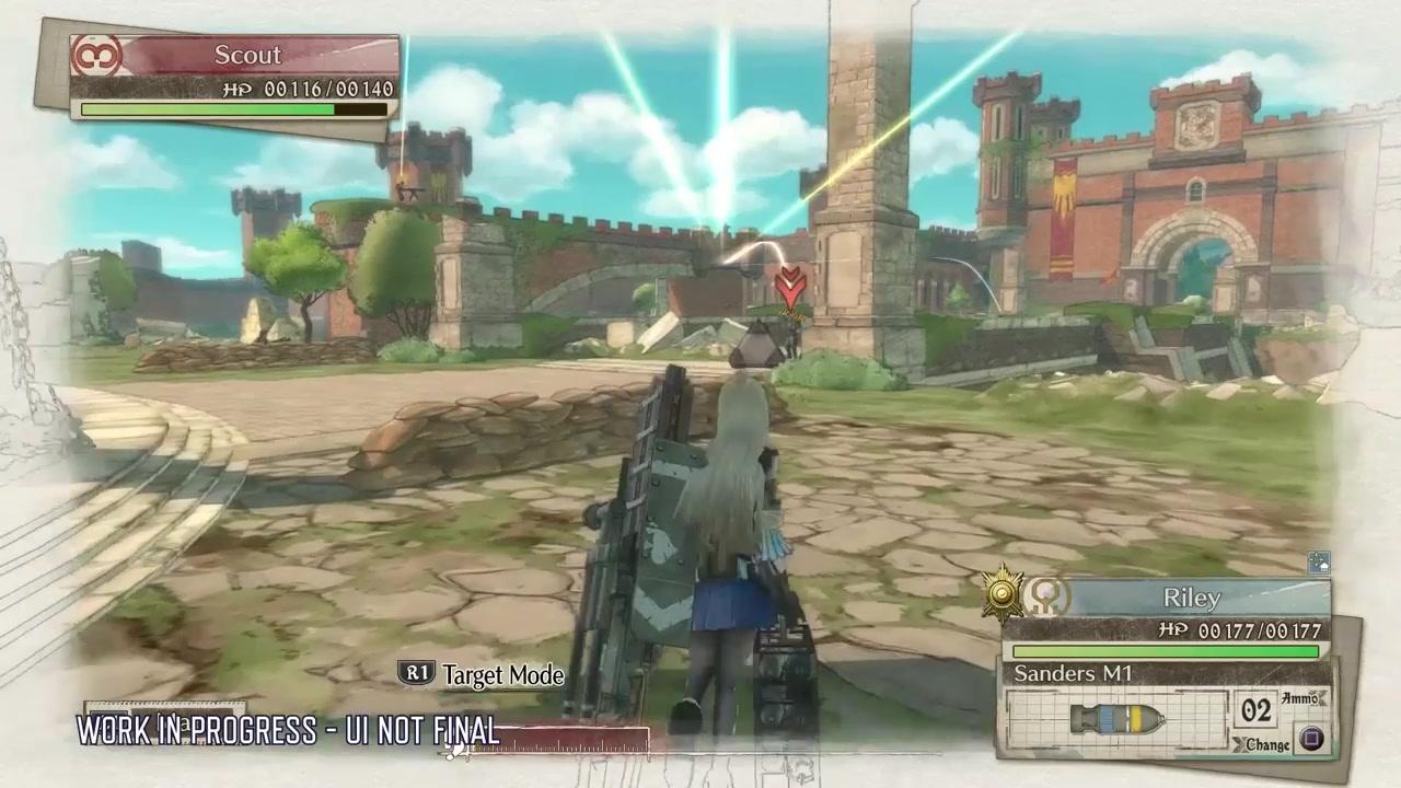 展示关键特性 《战场女武神4》PC版全新宣传片推出