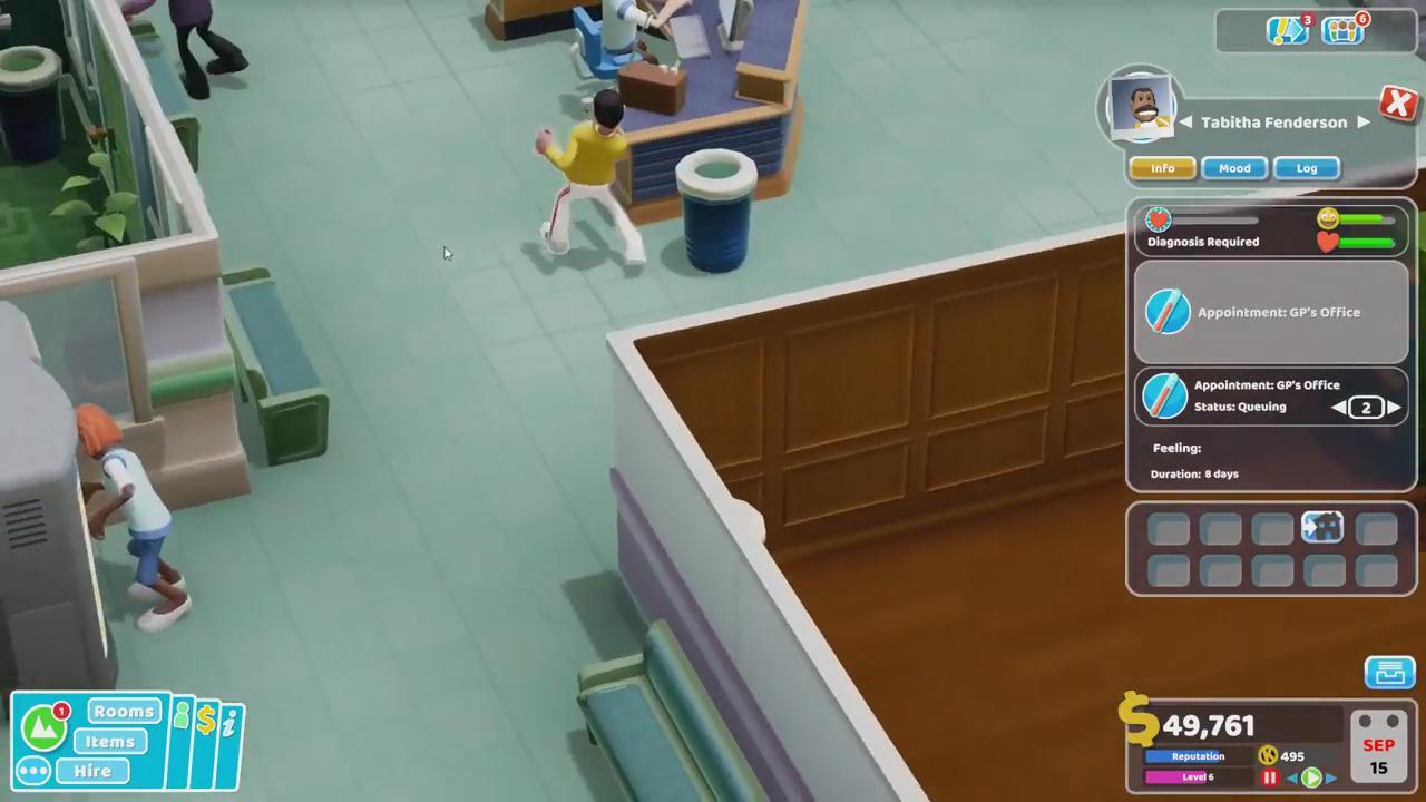 《双点医院》IGN 8.4分 有着惊人的深度和幽默感