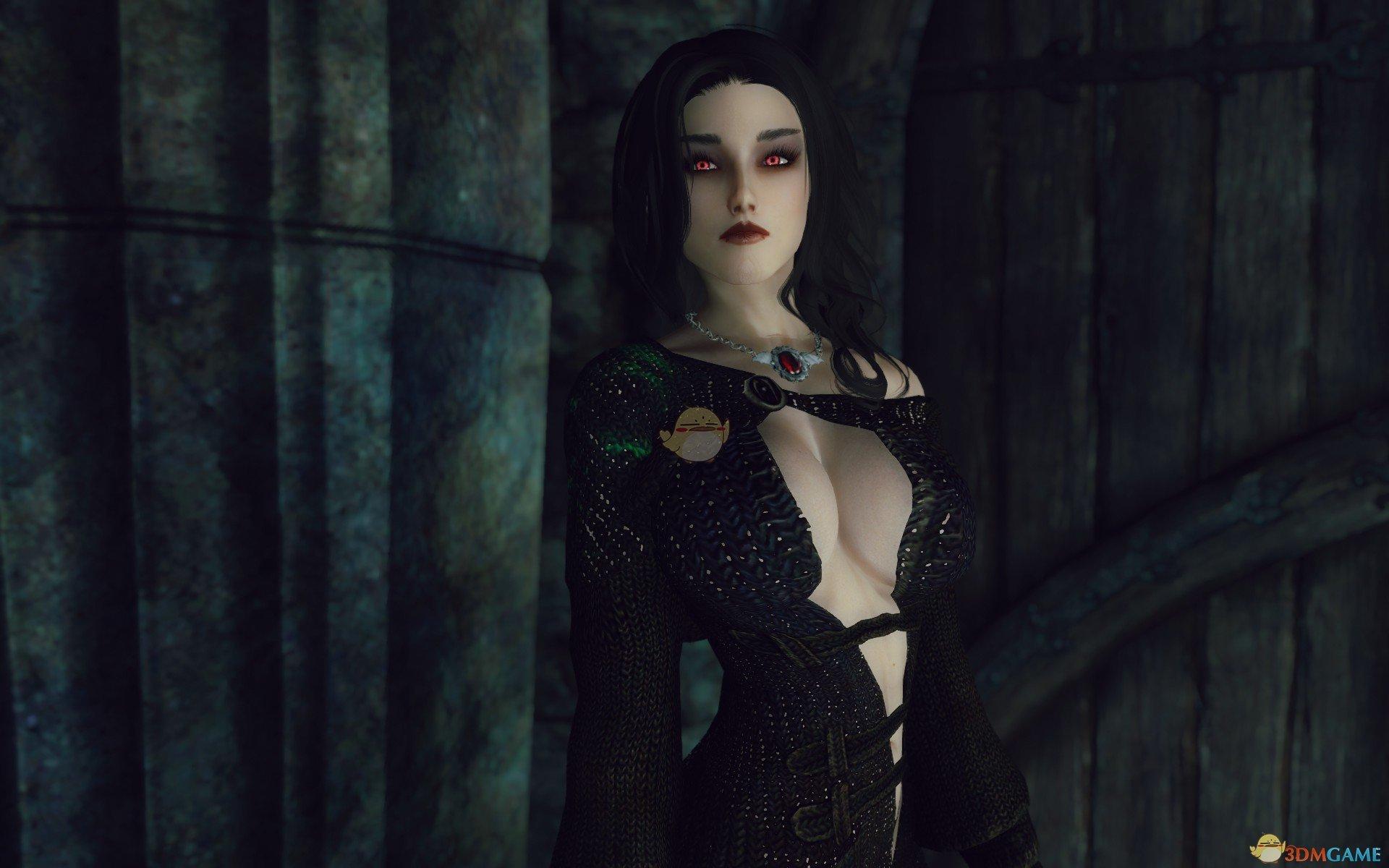 上古卷轴5:天际 Syvanna女性吸血鬼随从MOD