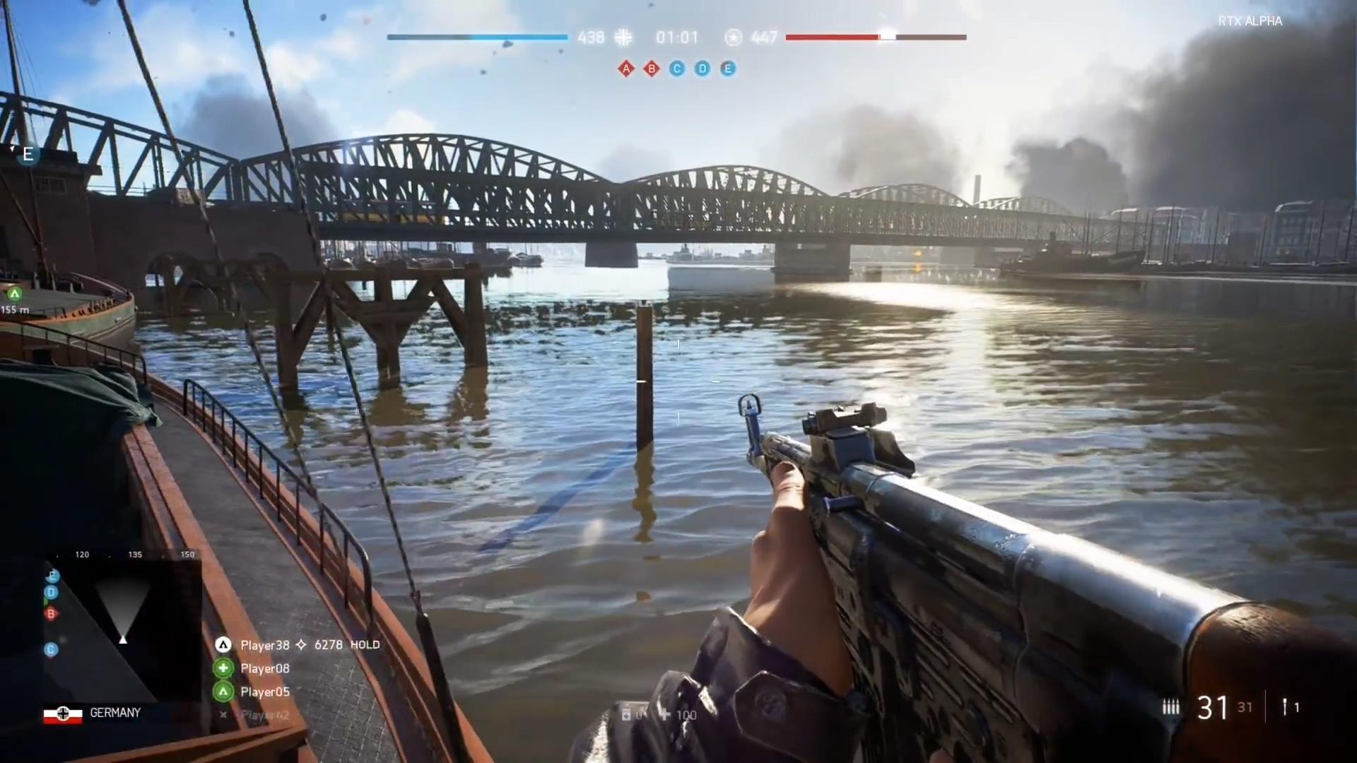 《战地5》PC版试玩视频 光线追踪技术开启