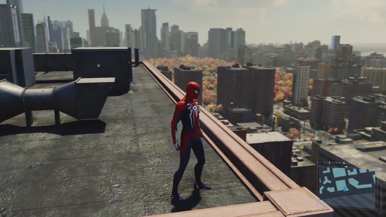 《漫威蜘蛛侠》穿梭整个纽约城演示 畅爽无比