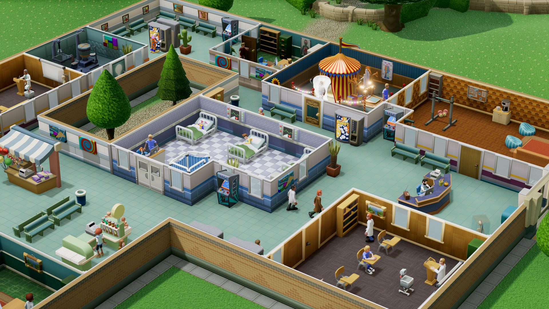 《双点医院》将迎来新更新 加入复制粘贴房间功能