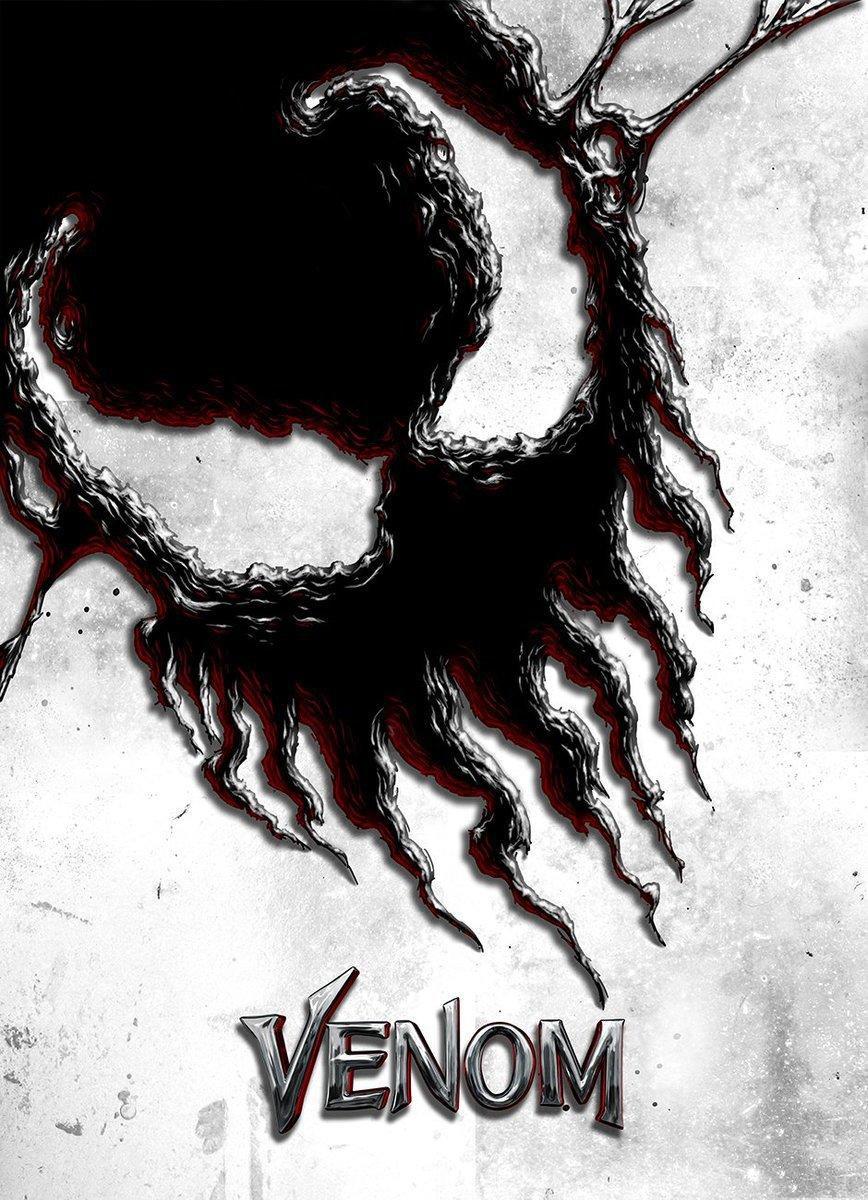 最新艺术片_漫威《毒液》电影艺术海报比拼 黑暗暴力酷炫动感