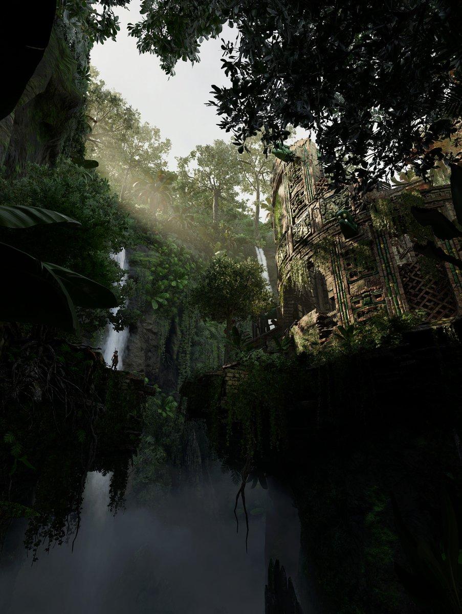 《古墓丽影:暗影》超精美截图 劳拉美爆 风景也棒