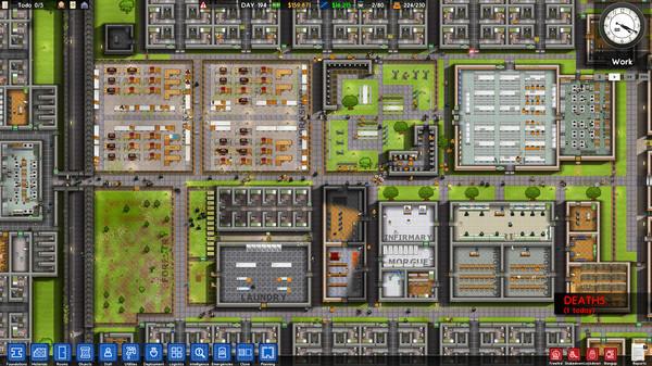 《监狱建筑师》全监狱员工功能一览