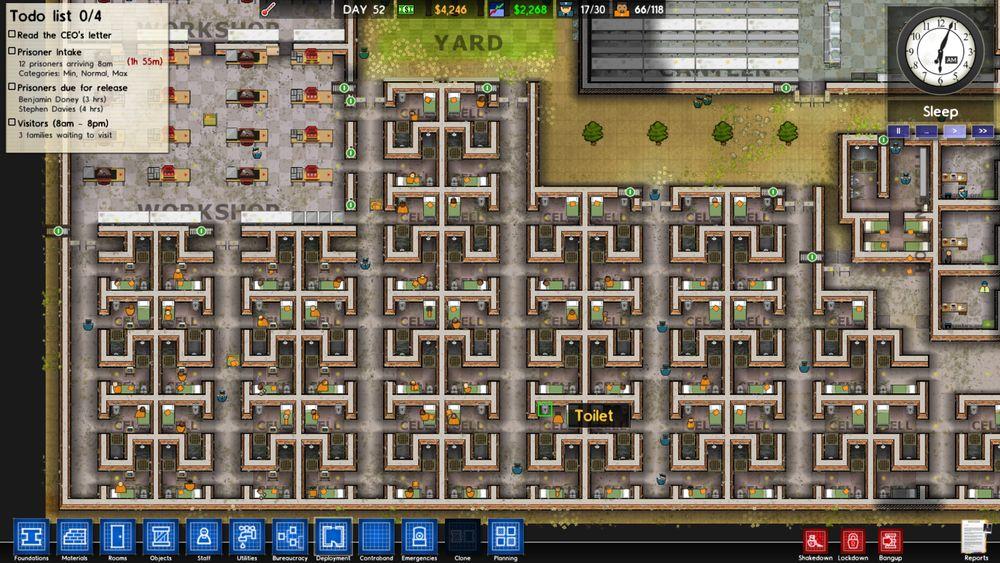 《监狱建筑师》全行政能力及效果一览