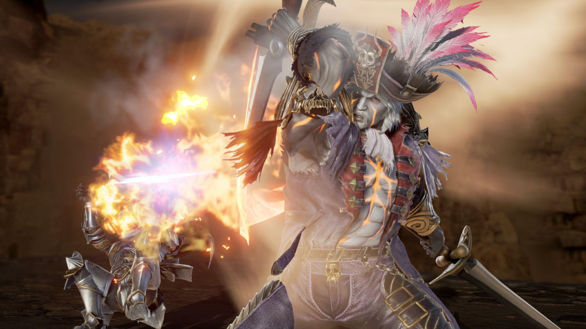 亡者之怒!《靈魂能力6》回歸角色塞萬提斯截圖展示