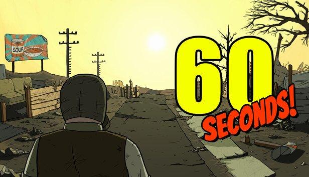 《60秒!》Steam周末限时免费 核灾难黑色幽默澳门皇冠官网