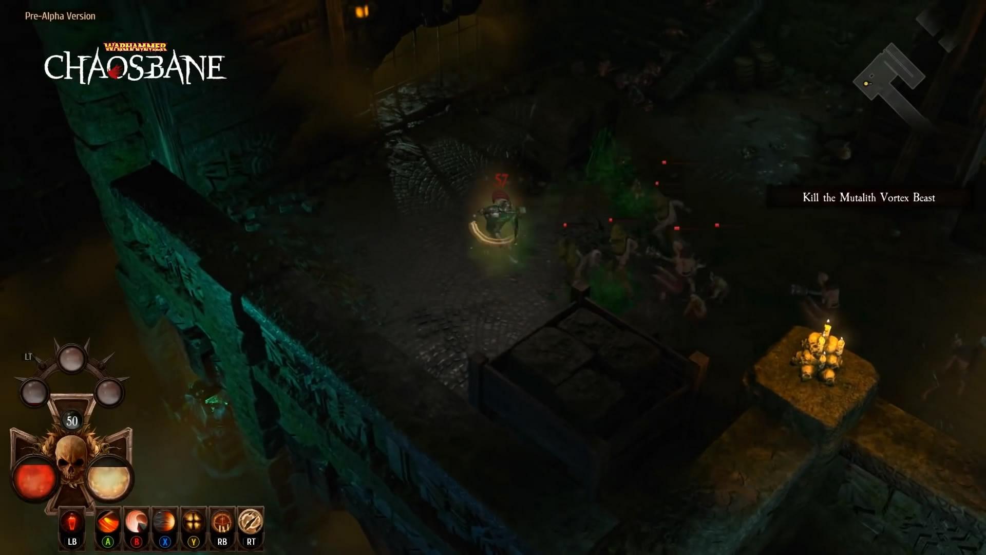 黑暗血腥 中古战锤ARPG《战锤:混沌祸根》新演示视频
