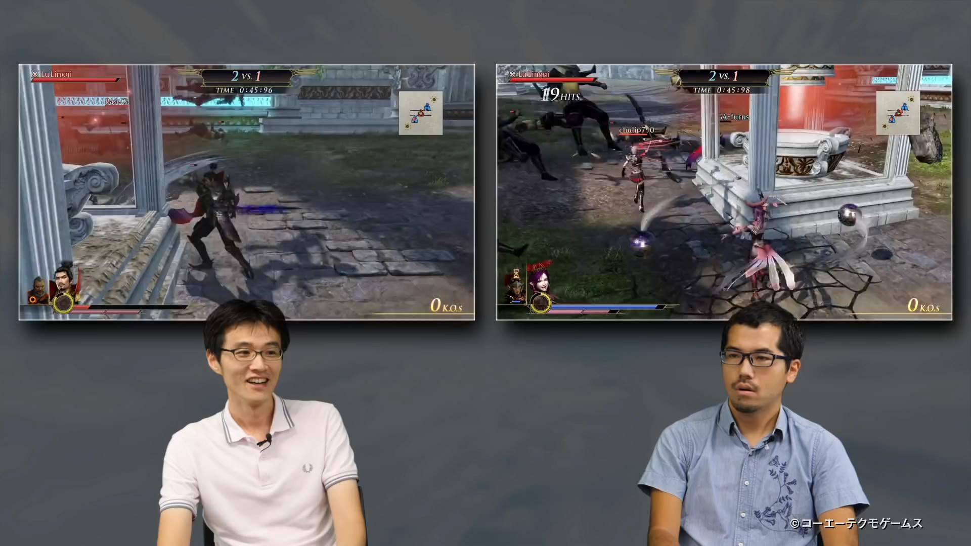 《无双大蛇3》新实机演示公布 PVP爽快对战占点为王