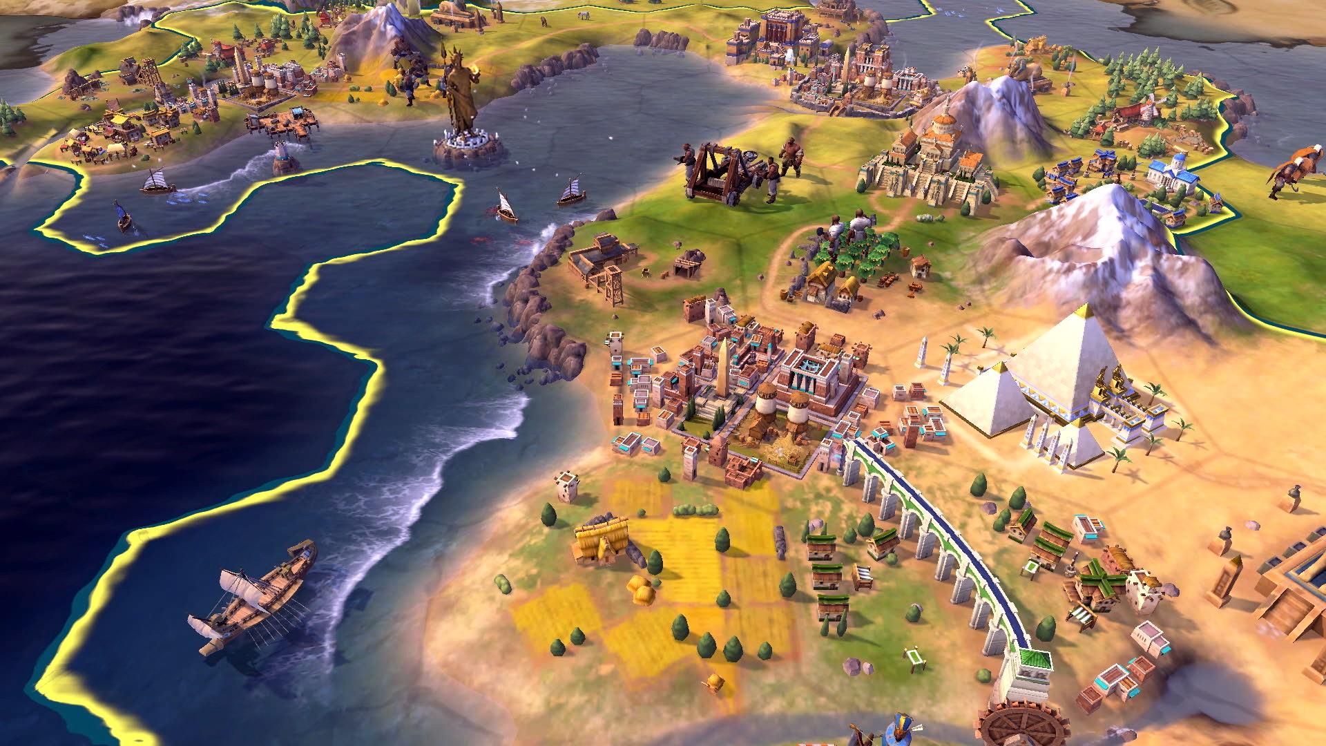 《文明6》Switch版发售日期公布 游戏预告及截图放出