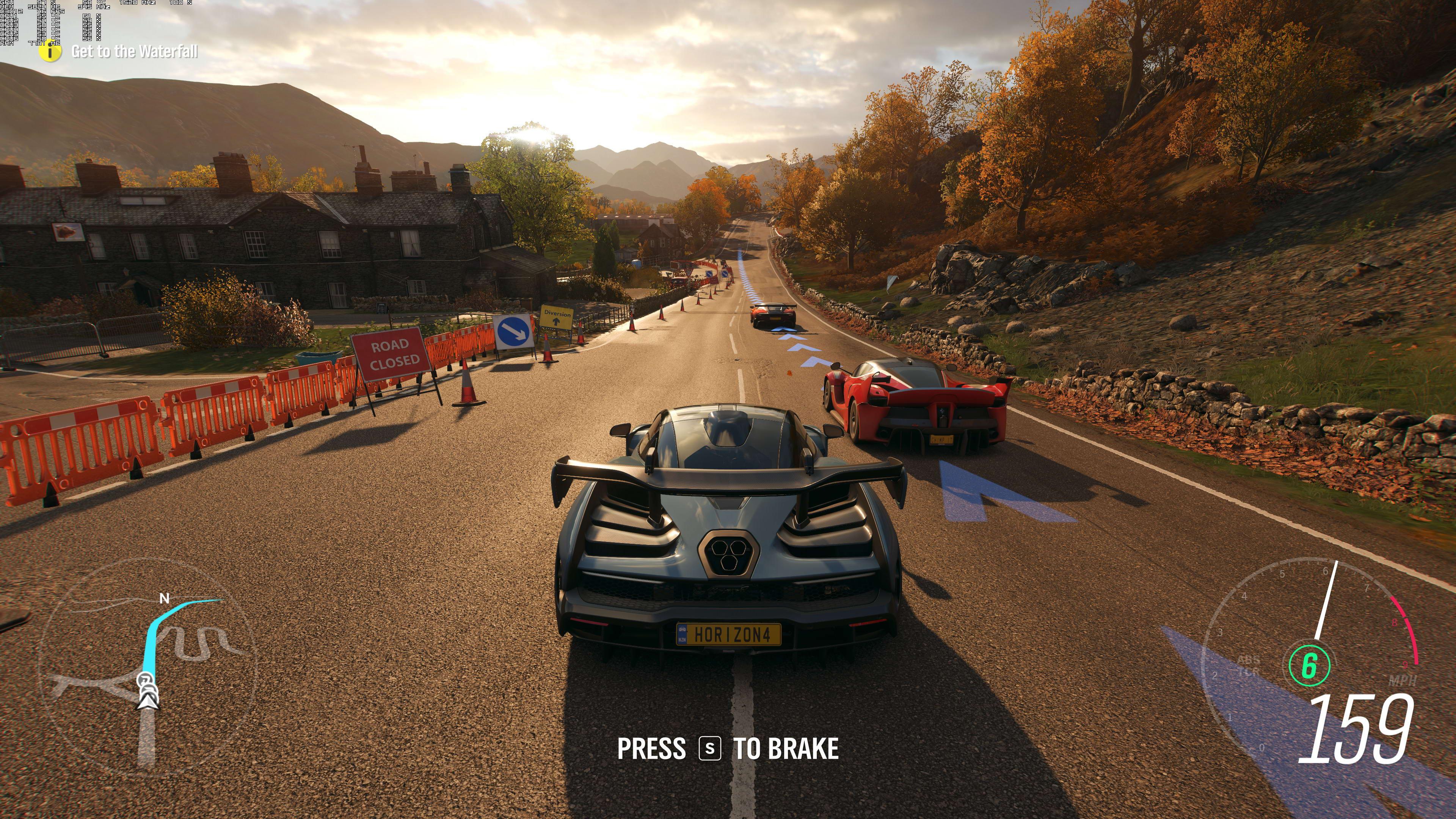 《极限竞速:地平线4》最高画质截图 画面十分惊艳!