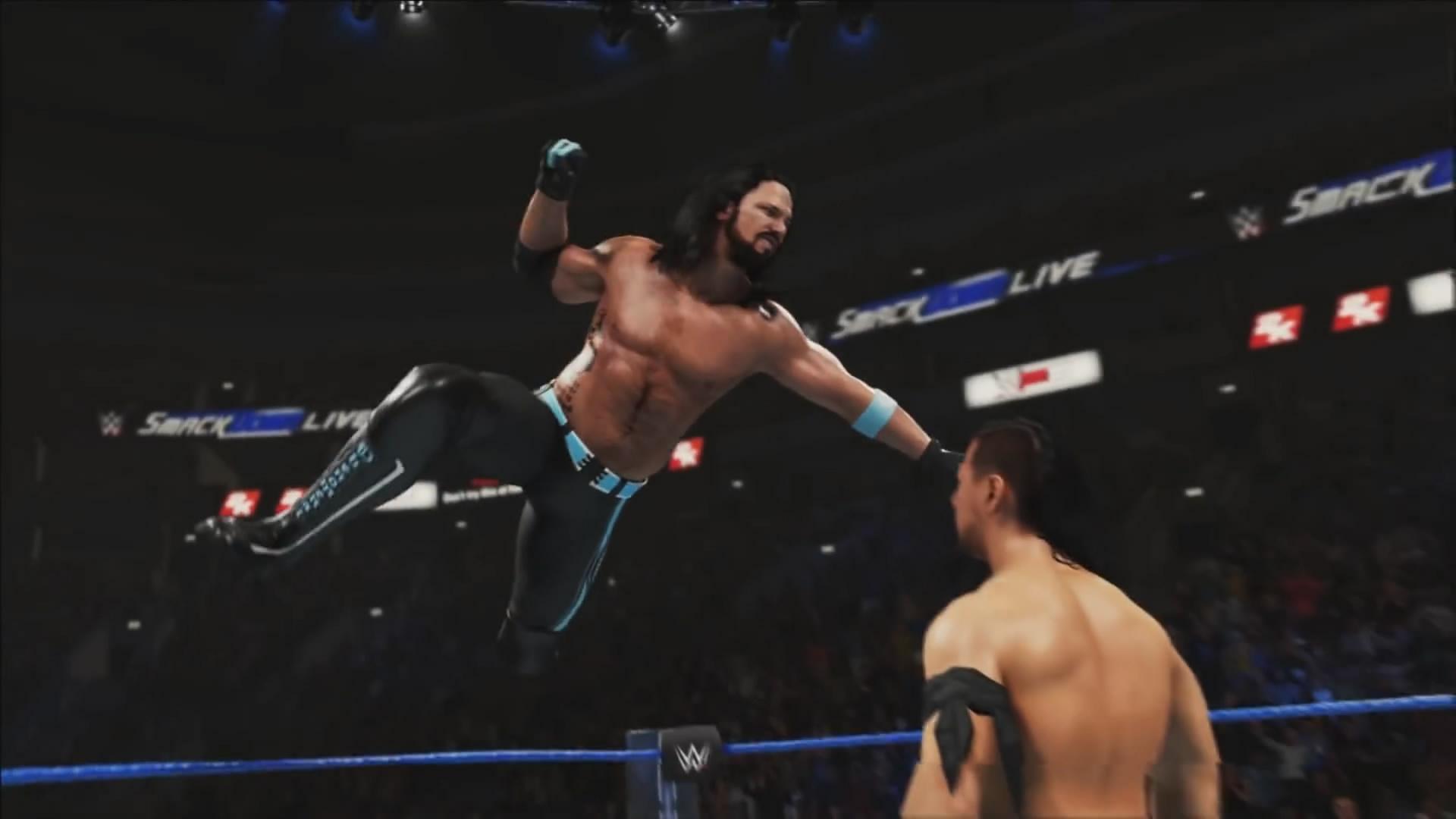 《WWE 2K19》新预告片 超级巨星激情摔跤爽个不停