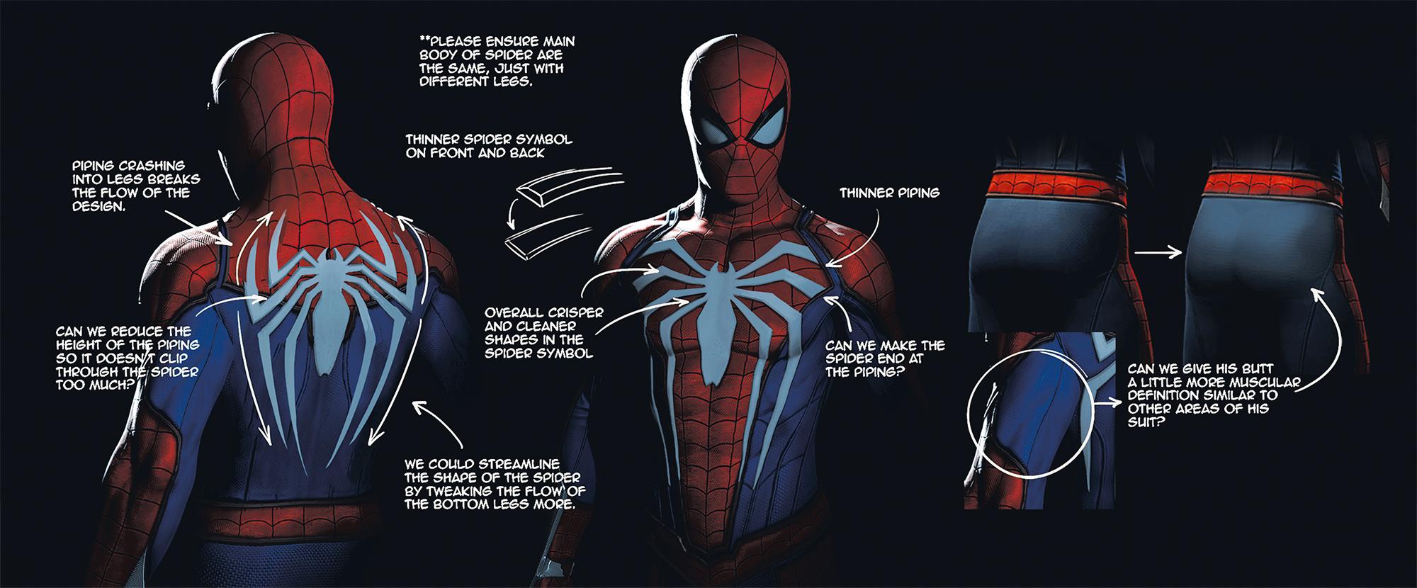 《漫威蜘蛛侠》精美艺术概念图 超级英雄激战不休