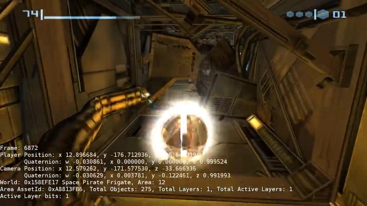 国外爱好者利用逆向工程开发《银河战士Prime》PC版