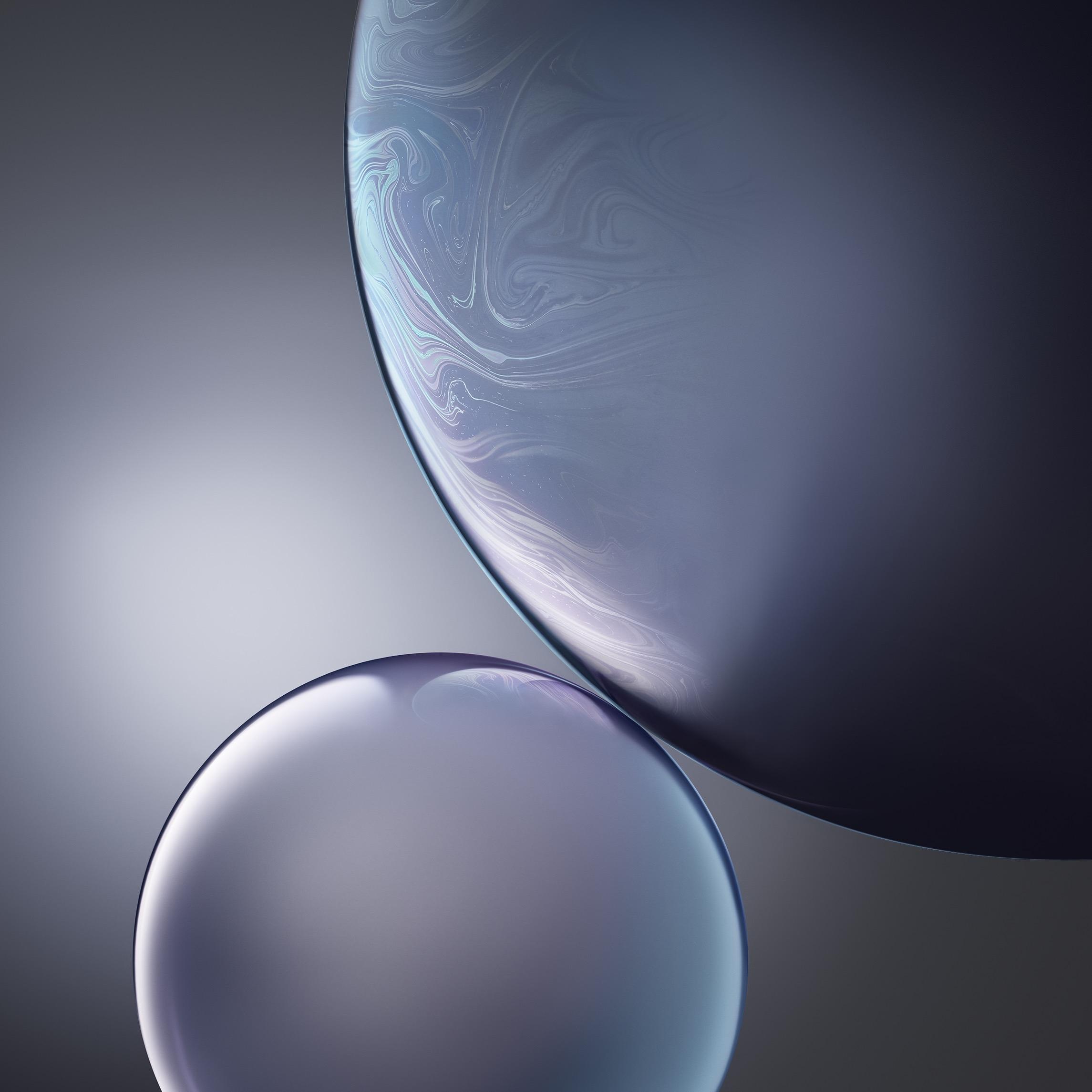 苹果iphone xr新壁纸下载:油光华亮色彩纷呈图片