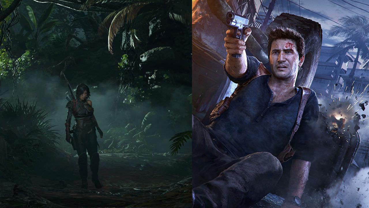 《神秘海域4》VS《古墓丽影:暗影》谁更胜一筹?