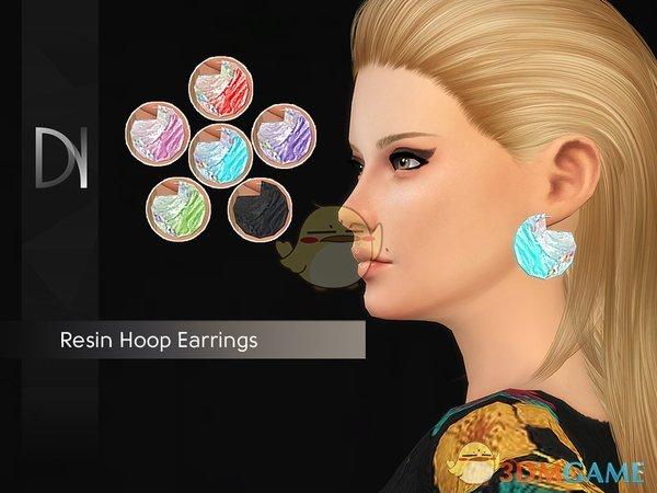 《模拟人生4》树脂耳环