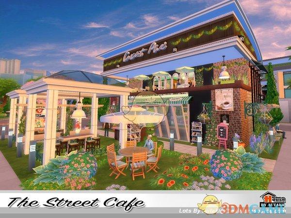《模拟人生4》街边咖啡店