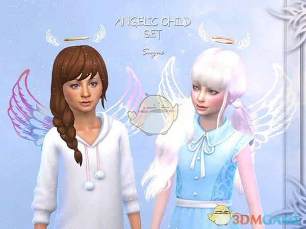 《模拟人生4》小孩天使套