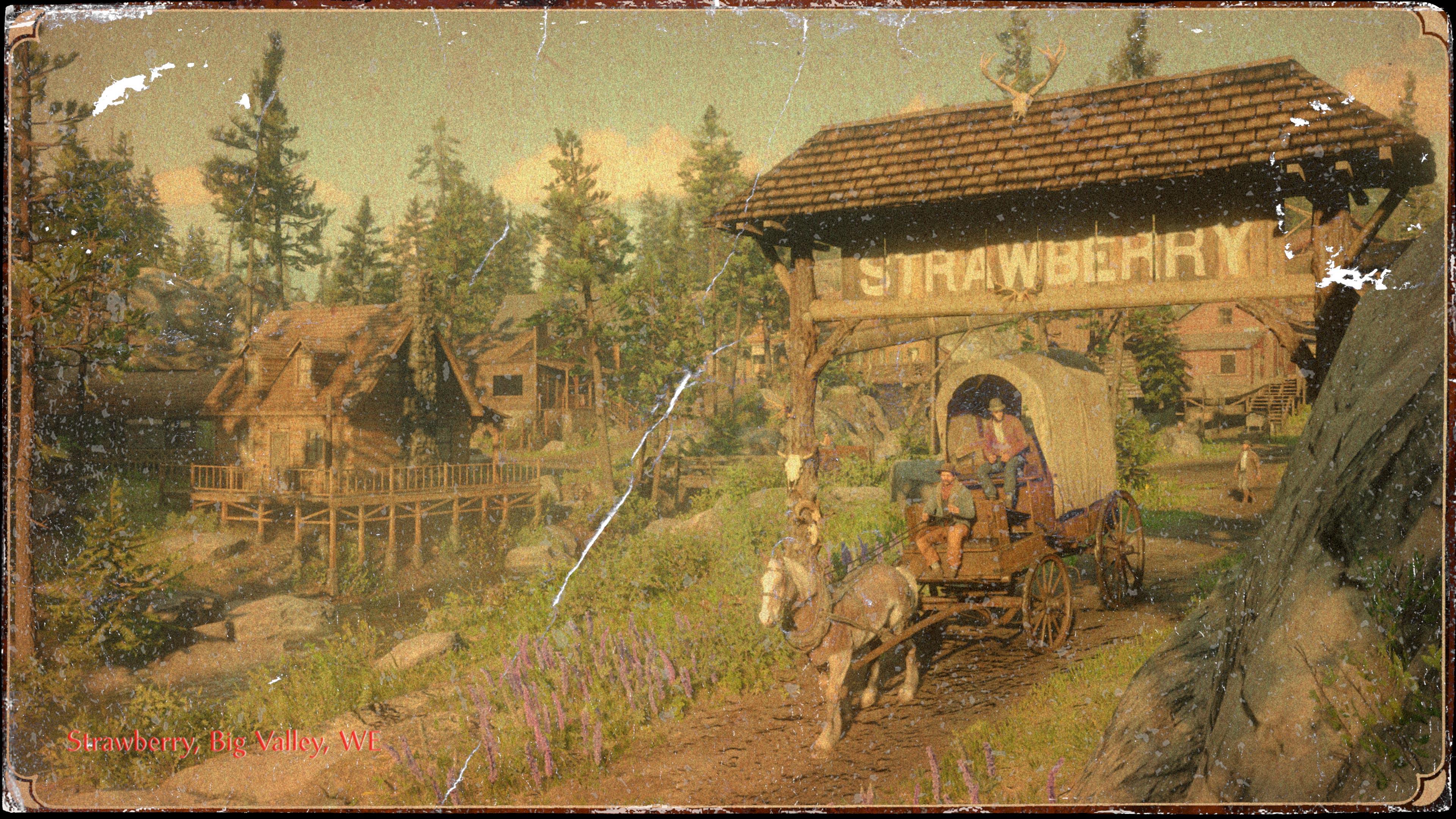 最真实的美国西部 《荒野大镖客2》 开放世界主要城镇介绍