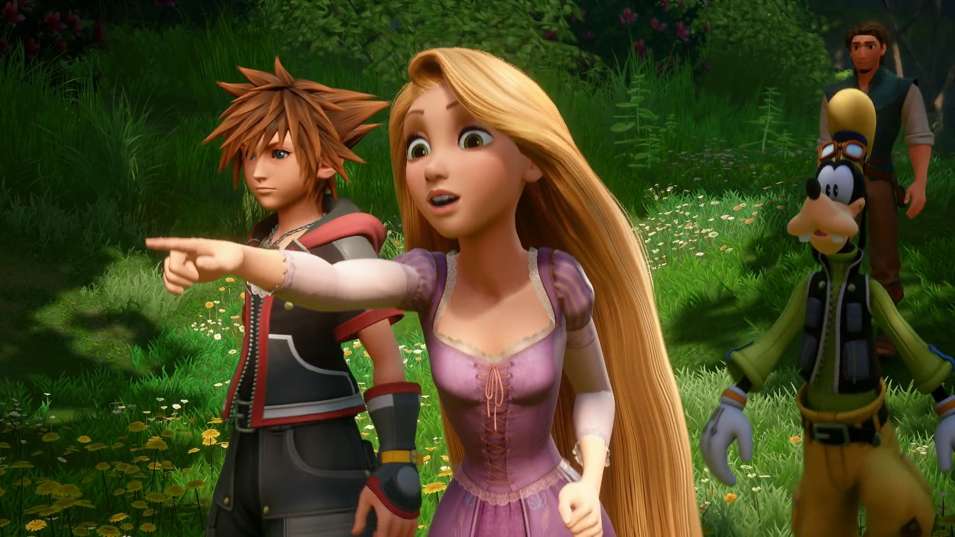虚幻4加持美丽迪士尼世界《王国之心3》TGS加长版预告