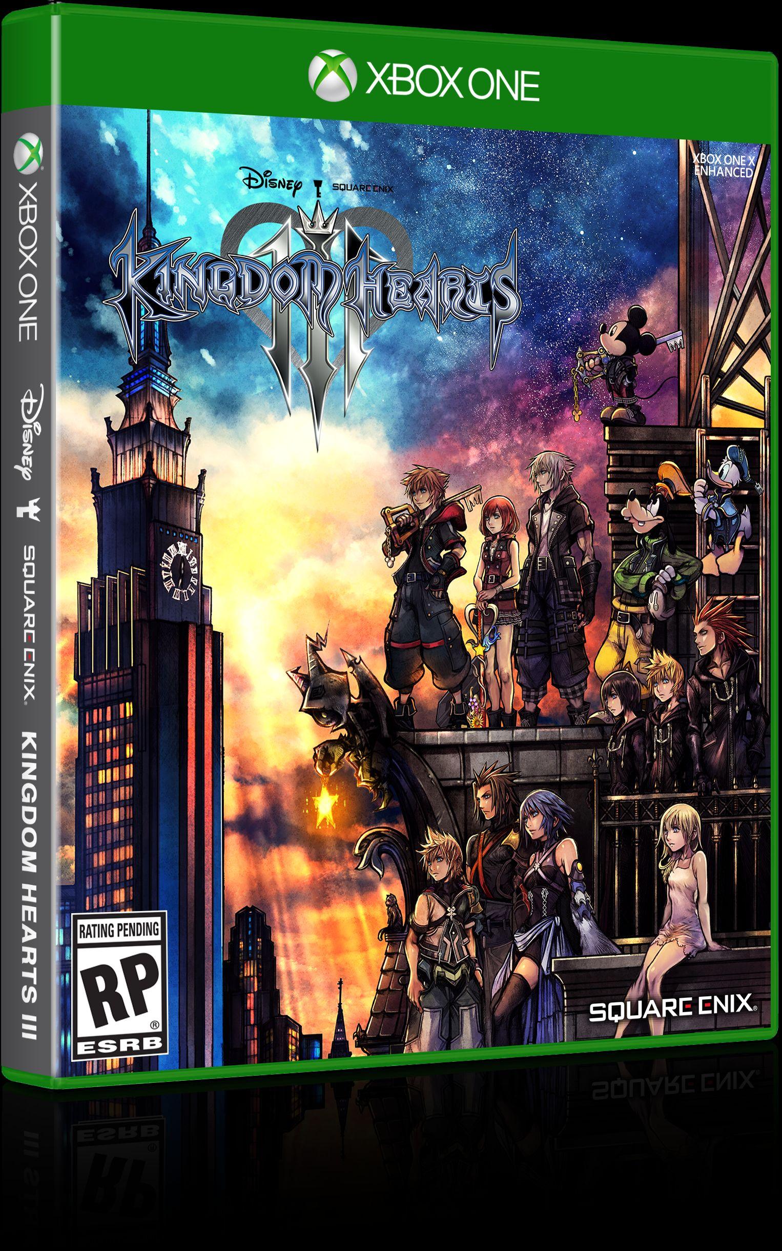 众角色汇聚一堂 《王国之心3》各版本封面图欣赏