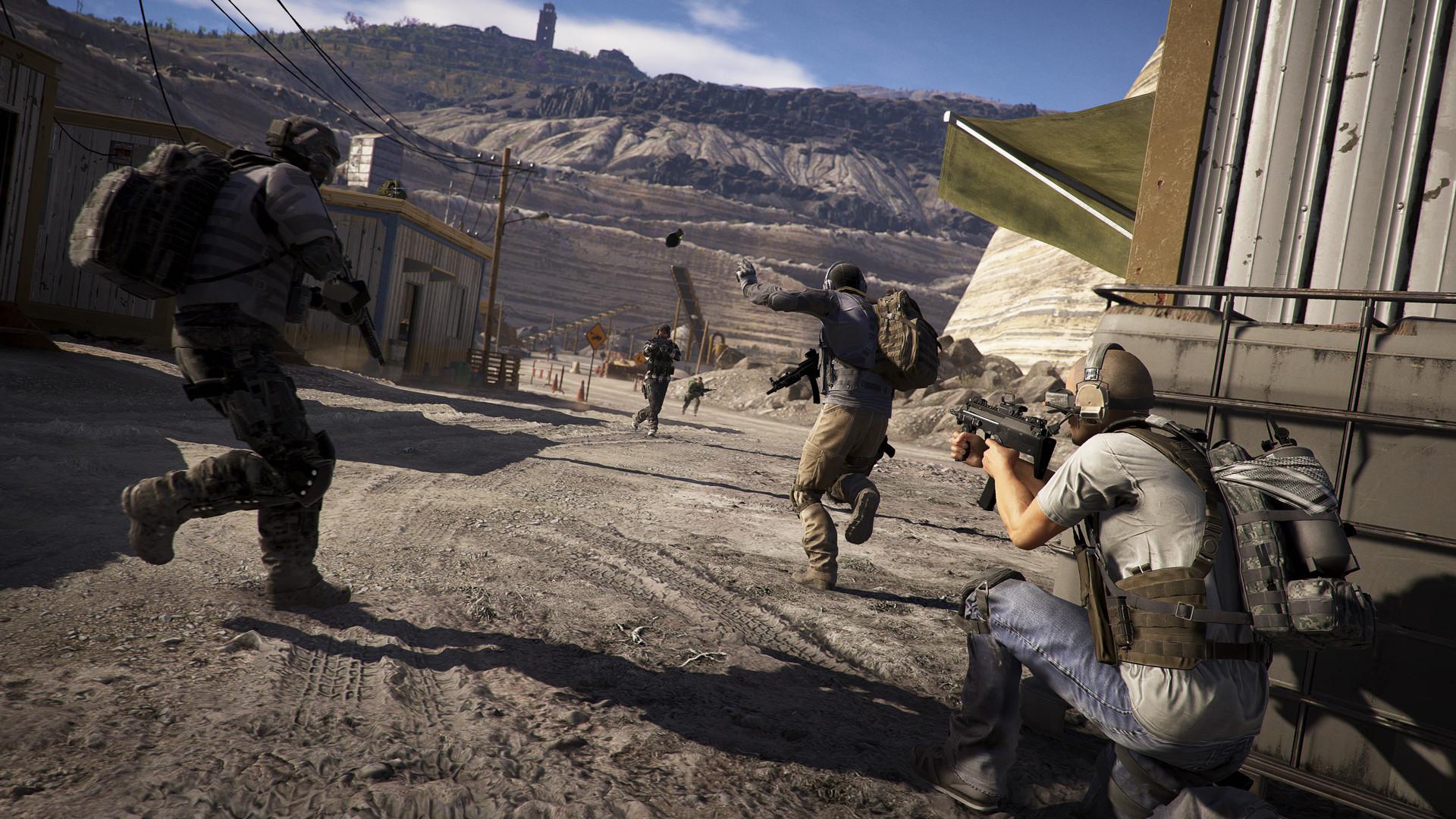 育碧开启全平台《幽灵行动:荒野》限期免费试玩活动