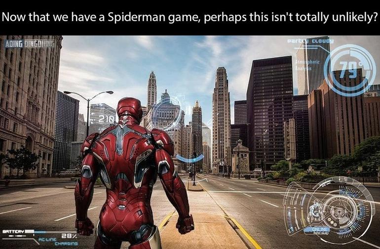 看起来还不错?粉丝开脑洞 自制《钢铁侠》游戏概念图