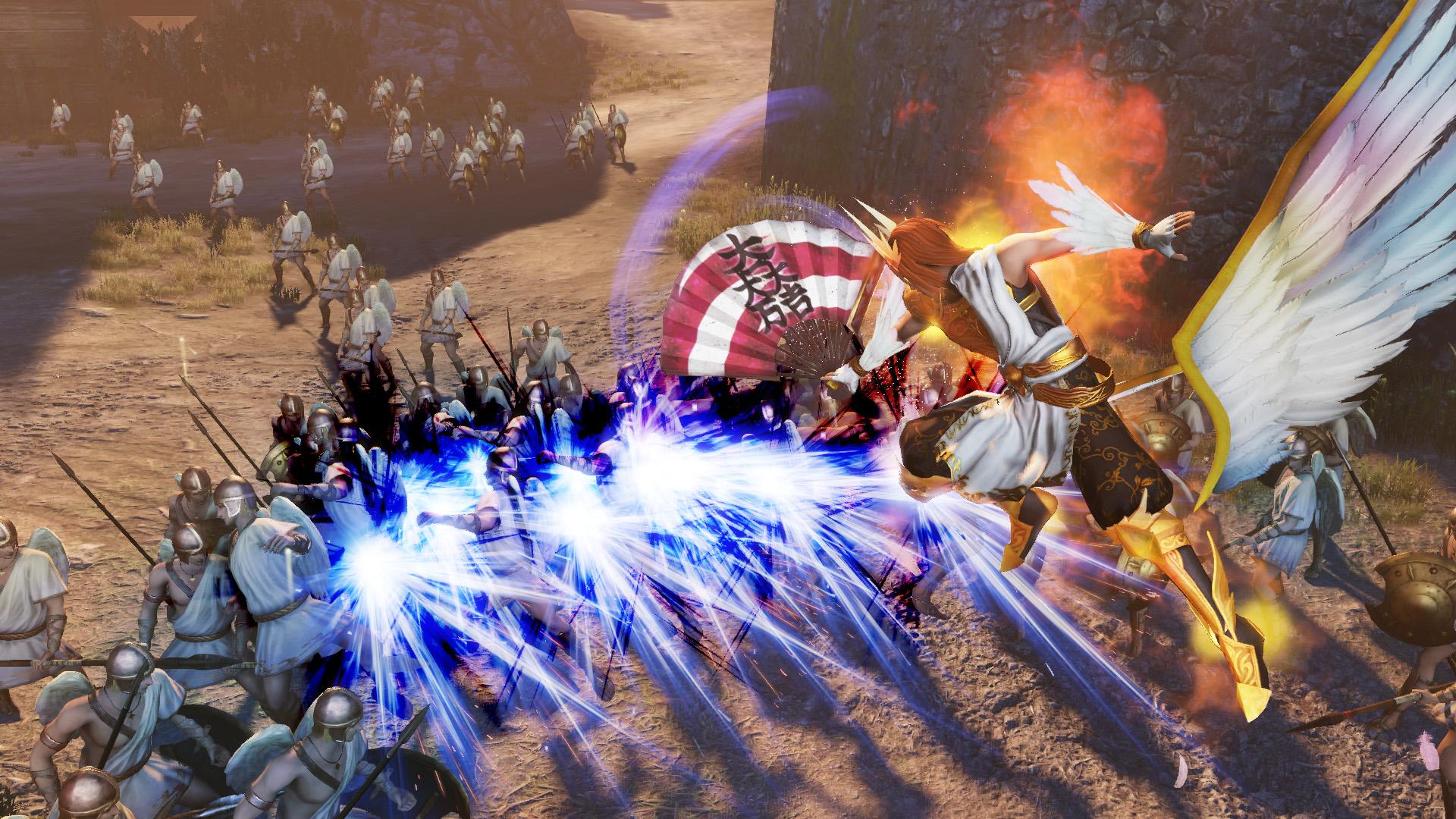 《無雙大蛇3》新預告和截圖放出 神格化神器盡情割草