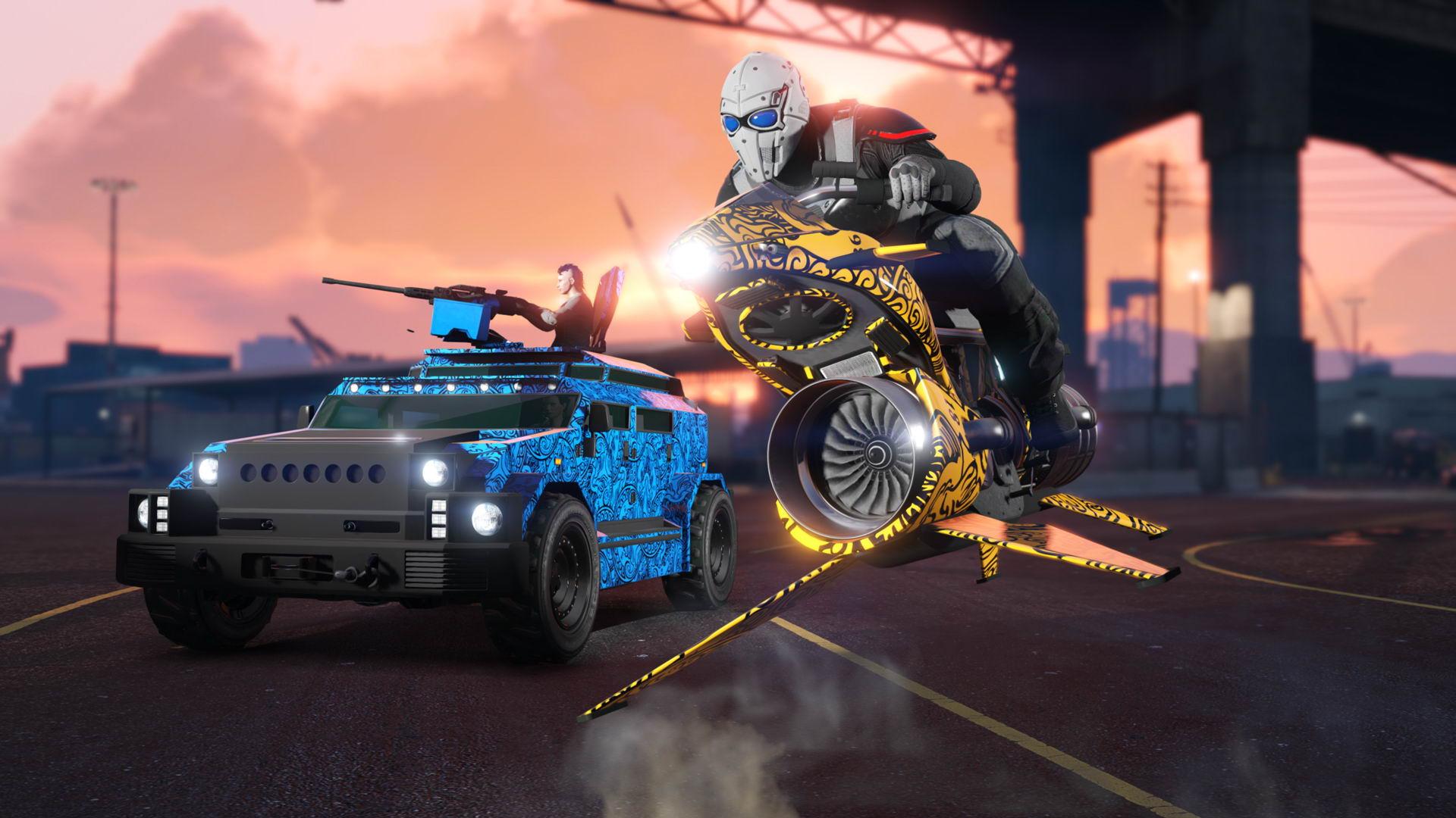 《侠盗猎车OL》全新更新发布 对抗模式等经典内容回归