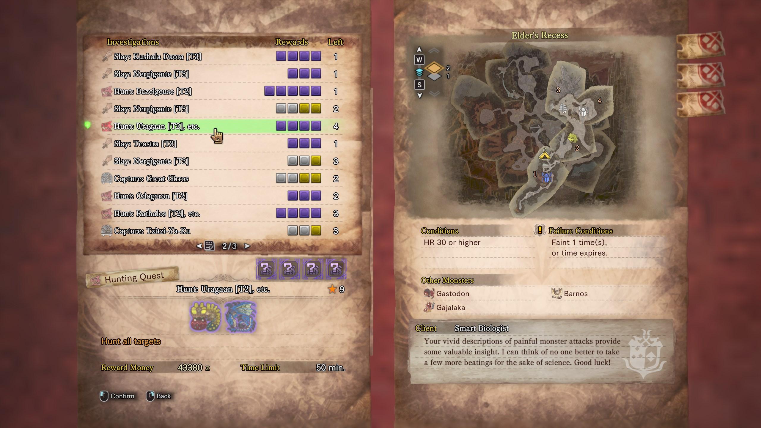 《怪物猎人世界》两款新MOD 提升宝珠掉落率显示威胁等级