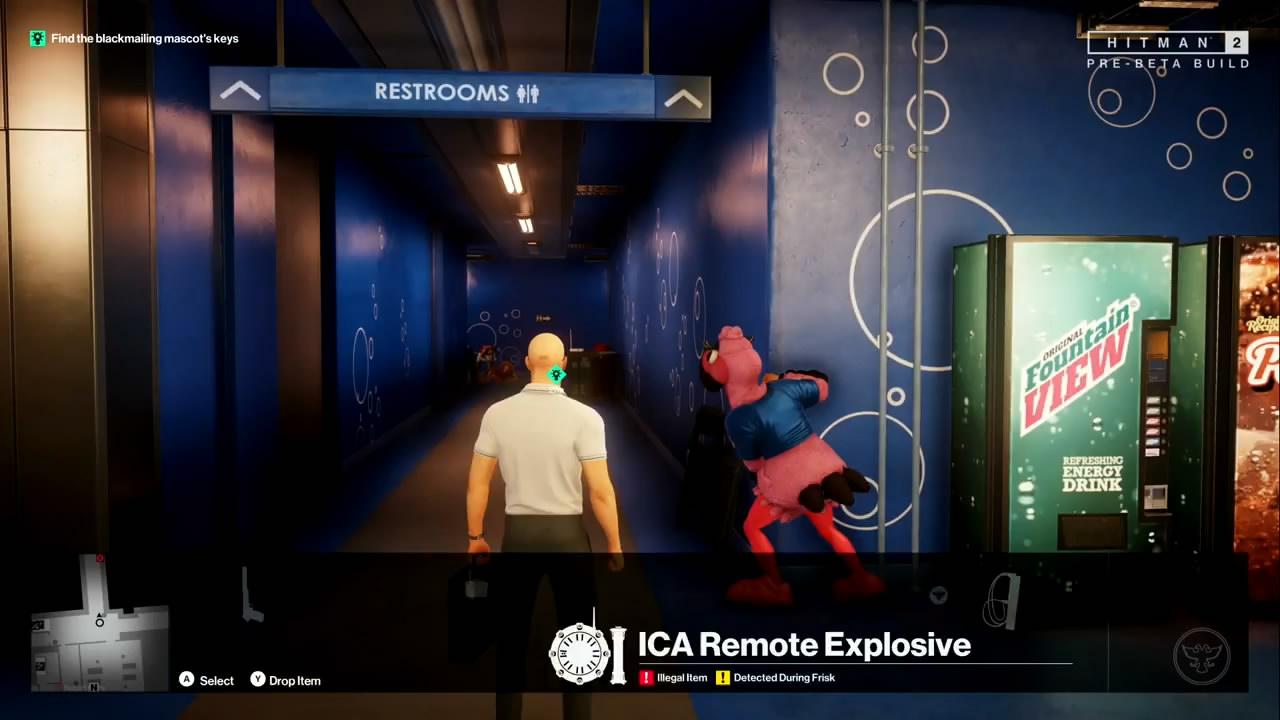 《杀手2》新演示视频 光头47暗杀目标花样很多