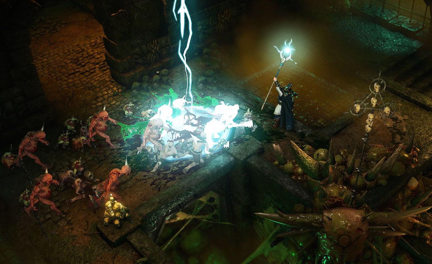 暗黑风格ARPG《战锤:混沌祸根》新预告 剧情围绕帝皇展开