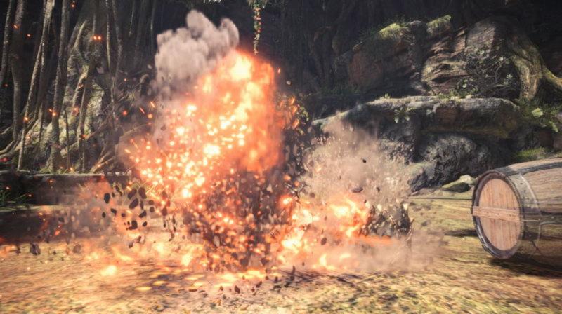 《怪物猎人:世界》3款MOD 集会所新增NPC武器带特效